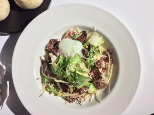 銀河鉄道レストランのサラダ