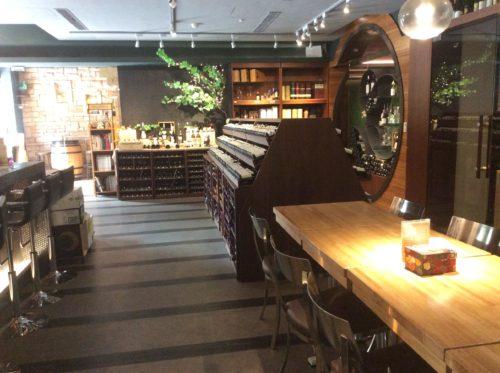 Evergreen Laurel Classic wine Shop店内2