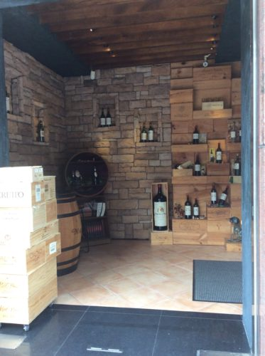 Evergreen Laurel Classic wine Shop入口
